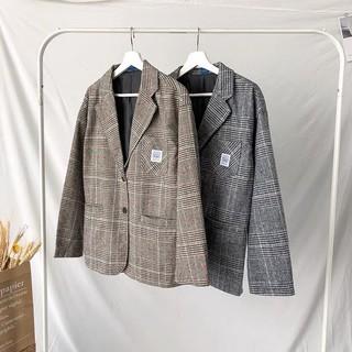 [Video ảnh thật] Áo Blazer Nam, Blazer Vest Nam Form Rộng Màu Đen Xám Dễ Phối Đồ Thời Trang Hàn Quốc BZ9