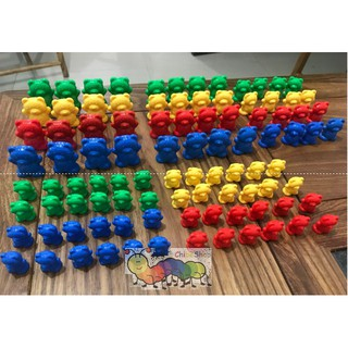 Học toán cùng 96 chú gấu – Learning resources counting bears 96 pieces