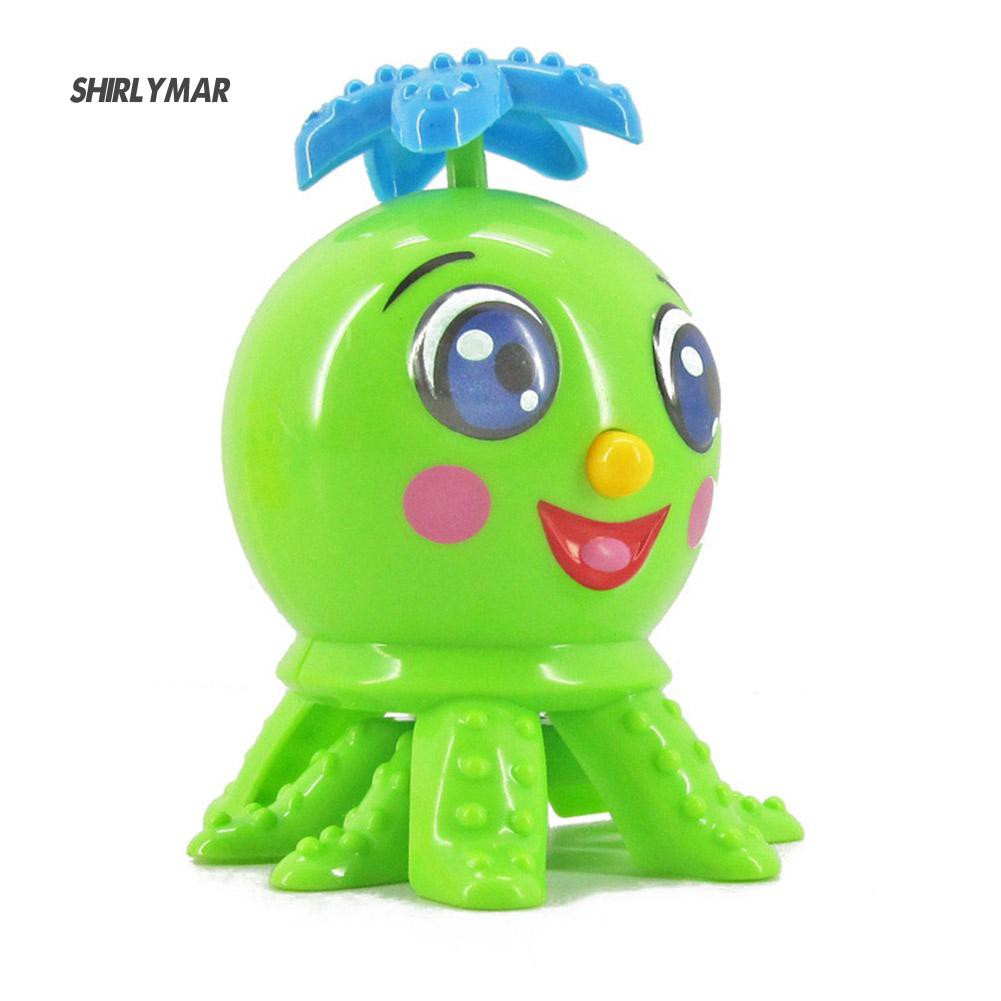 ஐSr Cute Cartoon Octopus Funny Wind Up Clockwork Educational Kid Baby Spring Toy