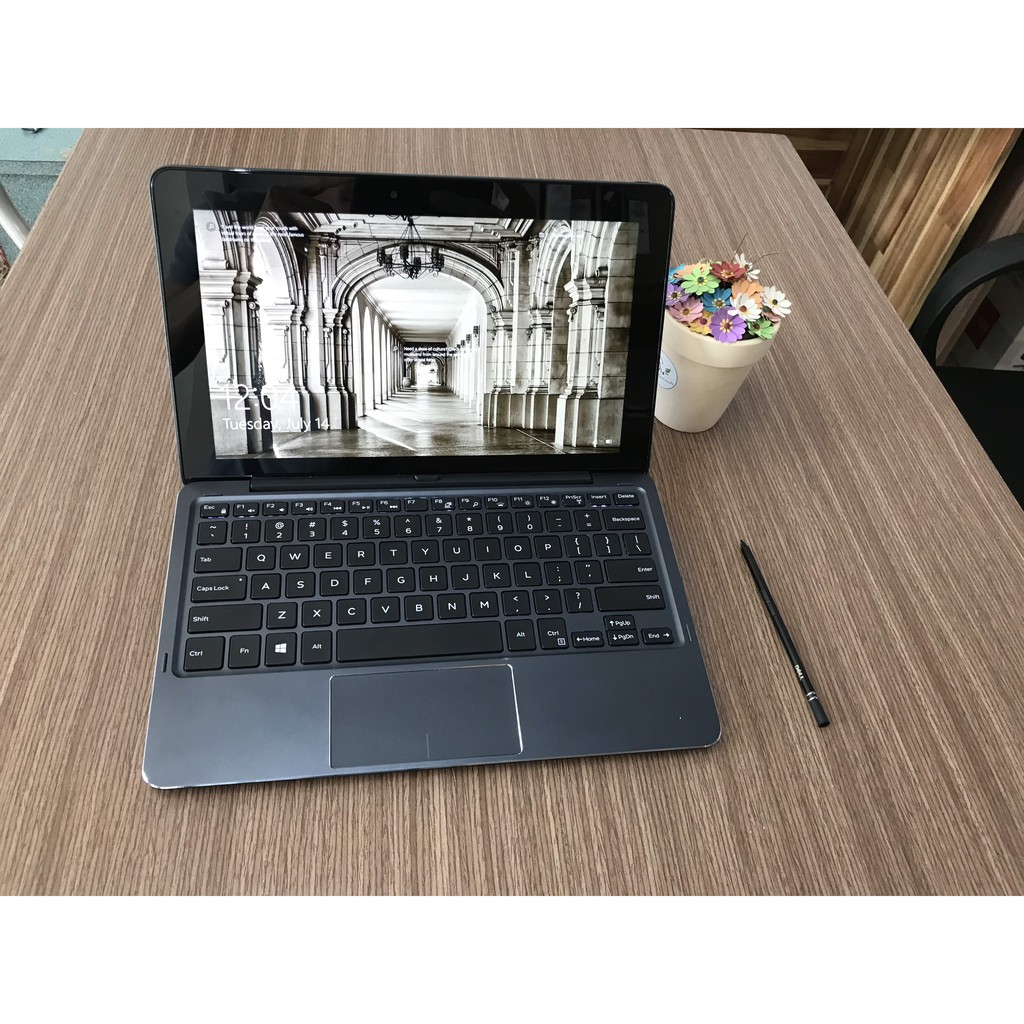 Laptop Dell cảm ứng 2-IN-1 E5179 (Core M5-6Y75U, Ram 8GB, SSD 256GB, MH 10.8' FHD Touch)