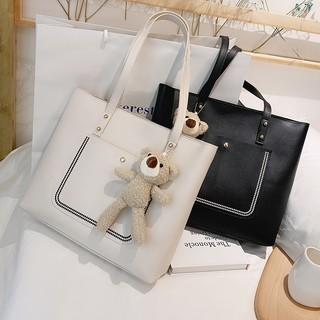 Túi xách nữ 🔥 bán lẻ 🔥 giá sỉ⚡Có Ảnh + Video Thật - Túi Đeo Chéo Nam Nữ - Da PU Mềm⚡Tặng kèm túi nhỏ cầm tay
