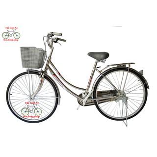 Xe đạp mini người lớn khung Inox thumbnail