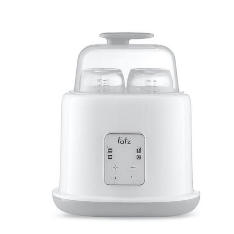 Máy hâm sữa tiệt trùng 2 bình điện tử DOU2 Fatz Baby - FB3223SL