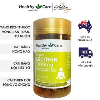 Mầm đậu nành Healthy Care Super Lecithin đẹp da, đào thải độc tố gan, cân bằng nội tiết tố