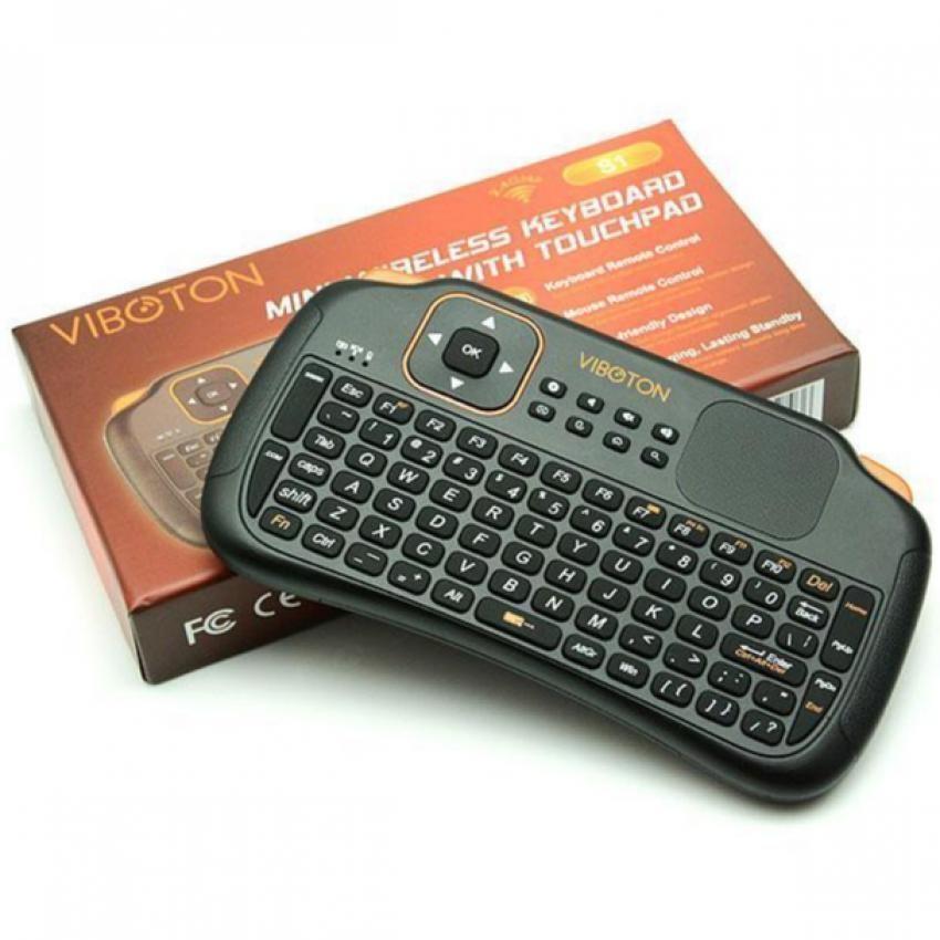 Bàn phím kiêm chuột không dây TV Box - VIBOTON S1