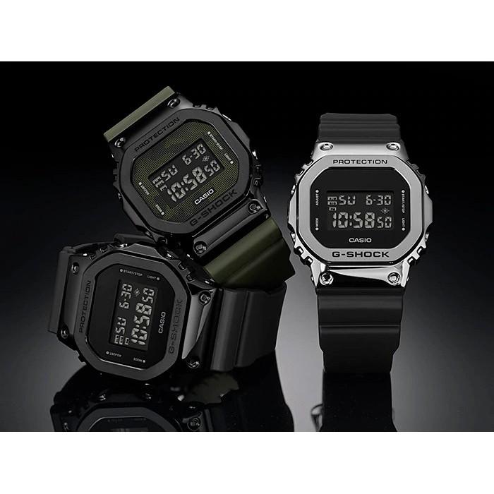 Đồng Hồ Casio Nam Dây Nhựa G-SHOCK GM-5600-1DR Chính Hãng