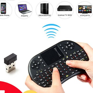 Chuột Kiêm Bàn Phím Không Dây UKB500 Cho Smart Tivi & Android Box thumbnail