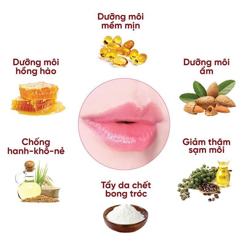 Combo dưỡng môi LIPINK - Dưỡng môi mềm mịn, căng hồng tự nhiên, chấm dứt nỗi lo môi khô, bong tróc - Son dưỡng có màu