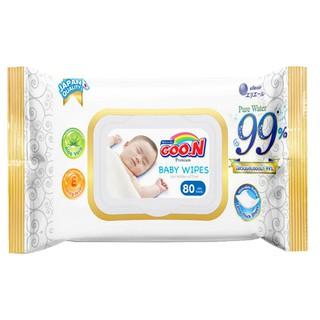 Khăn Ướt Goon Premium 80 Tờ Không Mùi - Mẫu Mới thumbnail