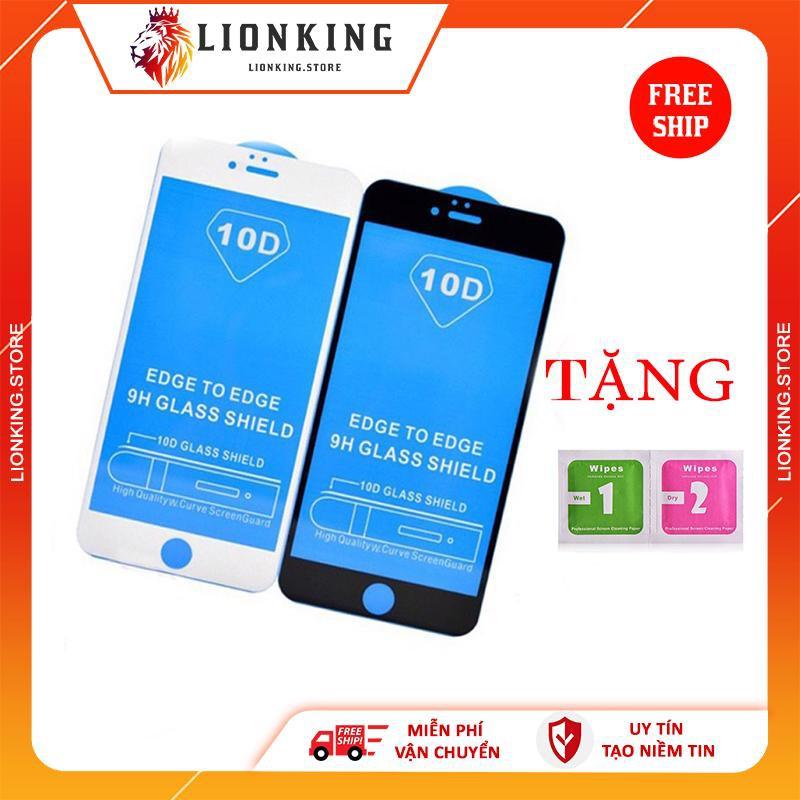 Kính cường lực iphone 6 6s Plus 7 Plus 8 Plus X Xr Xs Max 11 pro max full màn chống vân giá rẻ