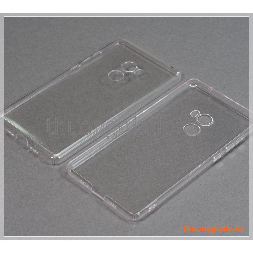 """Ốp lưng Mi Mix 2 (5.99""""), nhựa cứng trong suốt"""