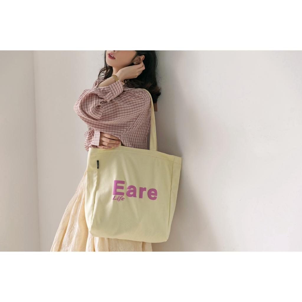 Túi tote bằng vải phong cách Hàn Quốc thời trang cho nữ