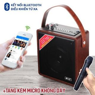 Loa Karaoke Bluetooth A061 Kèm Mic Không e