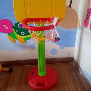 Cột ném bóng rổ nhựa nhập khẩu