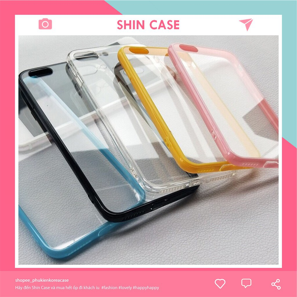 Ốp lưng iphone TRƠN CHỐNG Ố 6 MÀU 5/5s/6/6plus/6s/6s plus/6/7/7plus/8/8plus/x/xs/xs max/11/11 pro/11 promax – Shin Case