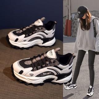 Giày NữinsThủy Triều2020Mùa Thu Và Mùa Đông Hoang Dã Mới Siêu Lửa Cộng Với Mùa Đông Ấm Áp Bông Bình Thường Giày Thể Thao thumbnail