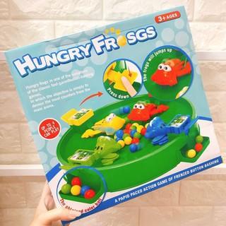 Trò Chơi Ếch Tranh Ăn – Hungry Frog Game