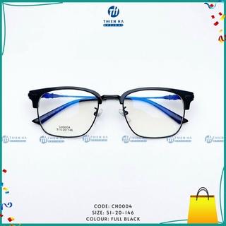 [ BÁN CHẠY ] Gọng kính cận Chrome Heart CH0004, gọng kính nam dáng vuông, chống gỉ, siêu nhẹ, hàng cao cấp nhiều màu sắc
