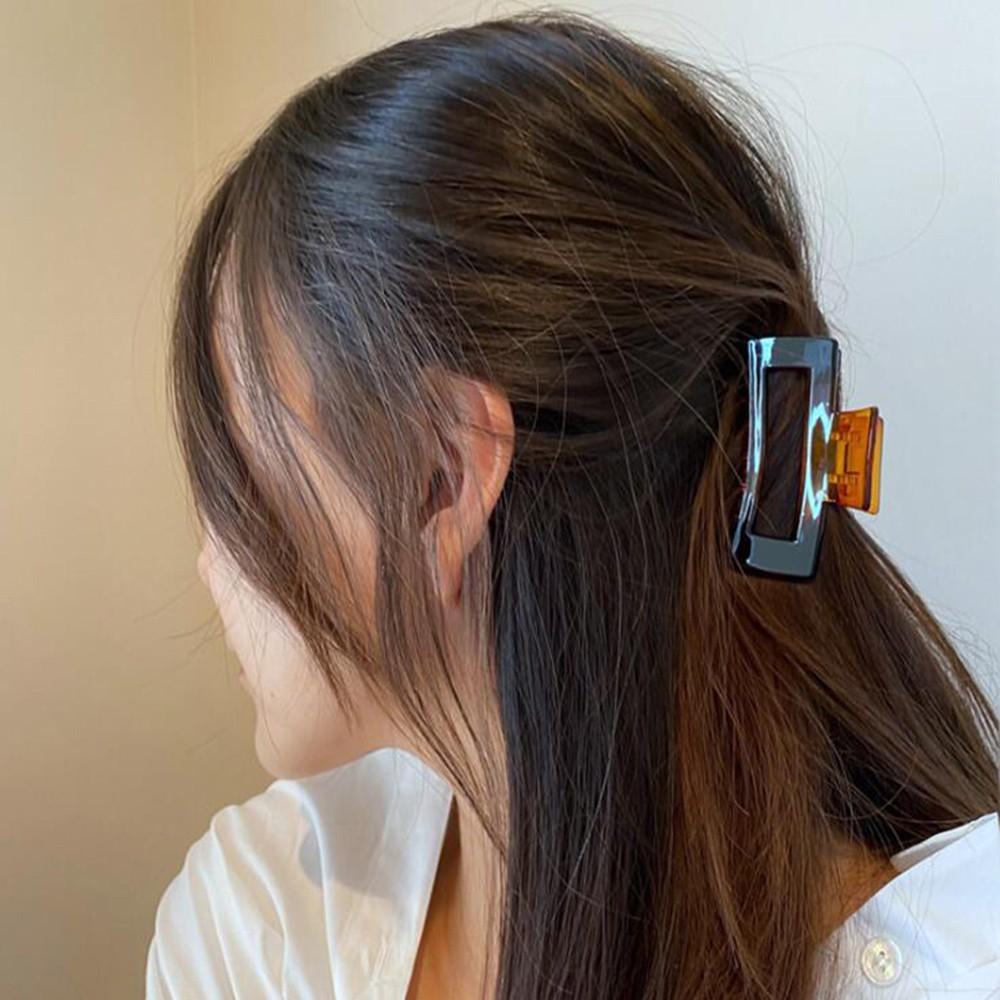 Kẹp tóc càng cua trong suốt dành c