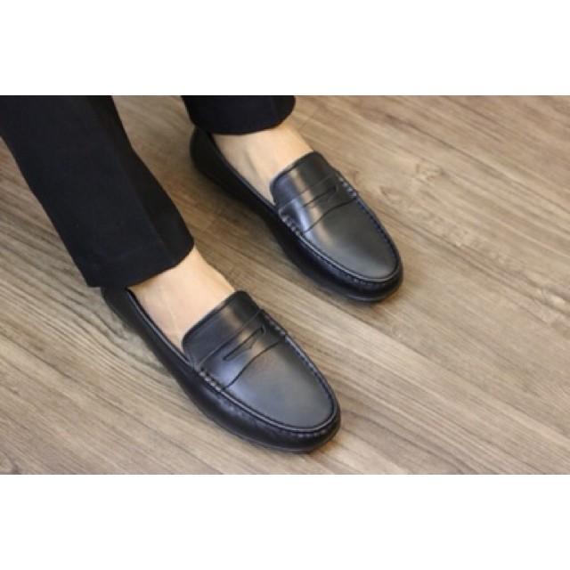 Giày mọi da bò trơn M01