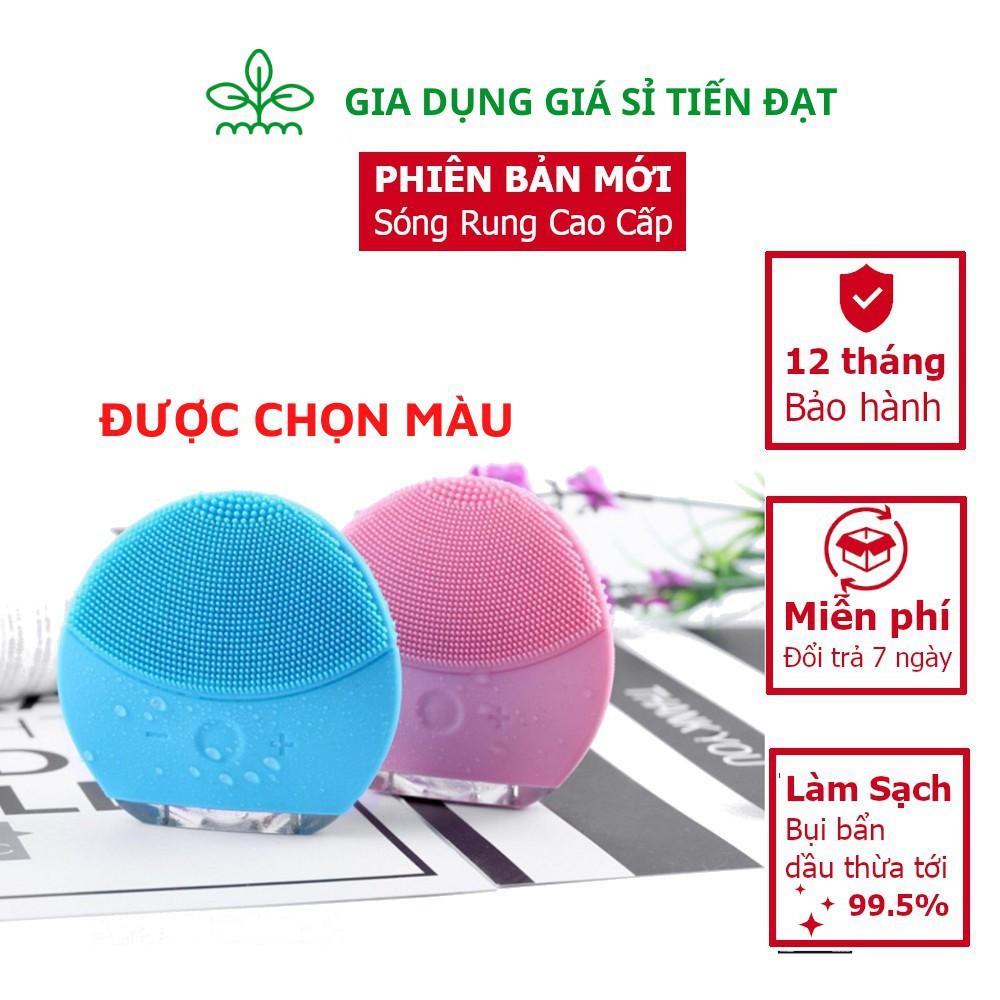 Máy Rửa Mặt Lina Mini 3, Làm Sạch Sâu 99,5%, Da Mềm Mại Sáng Đẹp Hơn, BH 12 Tháng Lỗi 1 Đổi 1
