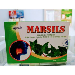 Kẹo ngậm ho Marsils
