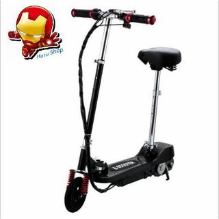 Xe trượt scooter điện xếp gọn E-Scooter 15km/h công suất 120w chất liệu