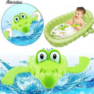 ♥♥♥ Swimm Crocodile Wind-up Clockwork Pool Bath Toys