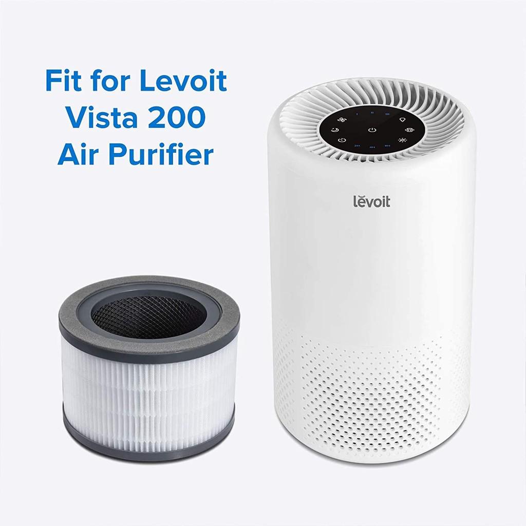 Màng lọc CHÍNH HÃNG LEVOIT dành cho máy lọc không khí LV-Vista200-RAM - Máy  lọc không khí Thương hiệu Levoit