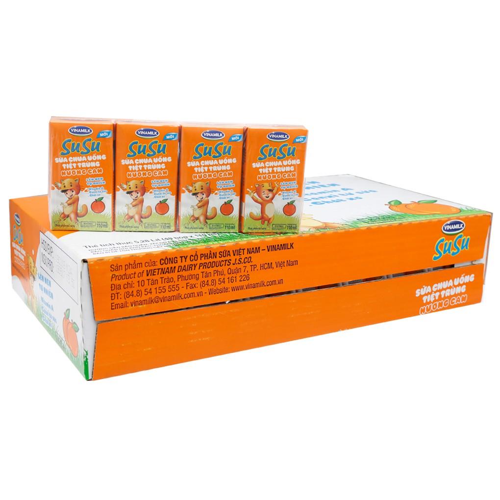 Sữa chua uống Susu hương cam hộp 110ml (thùng 48 hộp) - 2672135 , 654197730 , 322_654197730 , 175000 , Sua-chua-uong-Susu-huong-cam-hop-110ml-thung-48-hop-322_654197730 , shopee.vn , Sữa chua uống Susu hương cam hộp 110ml (thùng 48 hộp)