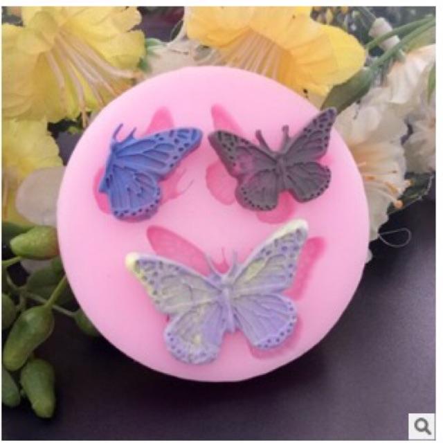Khuôn silicon hình bướm