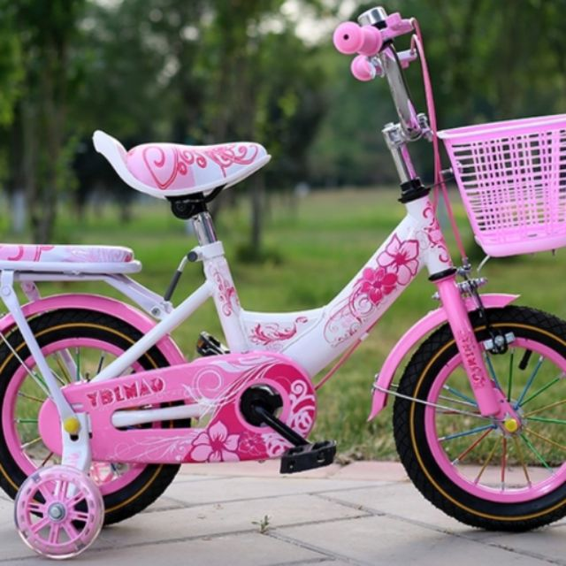 Xe đạp cho bé (Màu hồng)