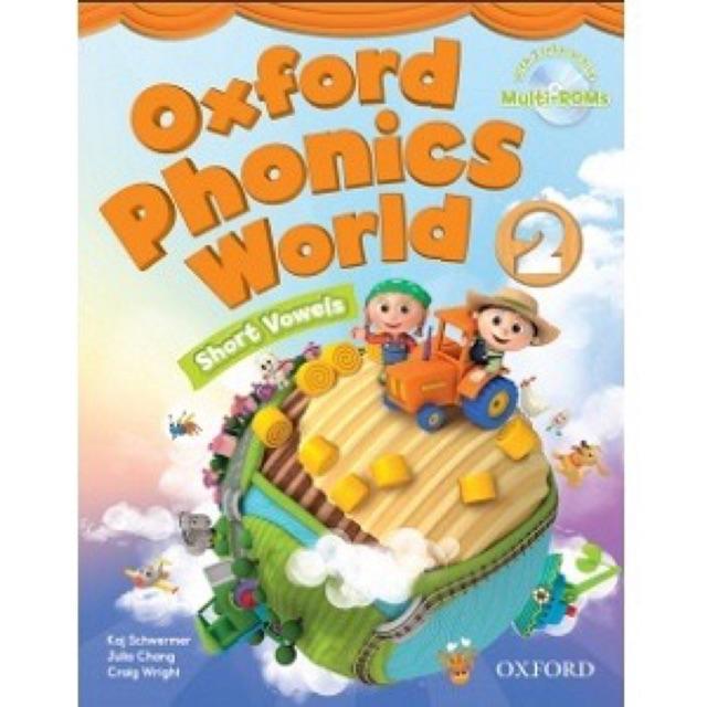 Bộ 93 Flashcard Oxford Phonics World 2