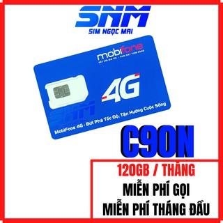 Sim 4G Mobifone C90N – FV119 Free Tháng Đầu – 4GB/NGÀY – 120GB DATA TỐC ĐỘ CAO – MIỄN PHÍ GỌI
