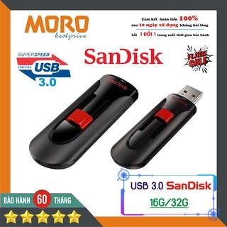 [Mã ELFLASH5 giảm 20K đơn 50K] [USB 3.0] USB 16G - 32G Sandisk Cool Circle - Hàng nhập khẩu bảo hành 5 năm