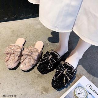 Giày Lười Đính Đá Toàn Diện Gs Jm-F7917