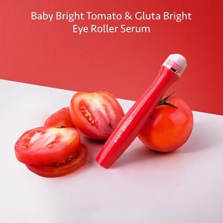 [ An Toàn ] Bút Lăn Mắt Baby Bright Tomato & Gluta Bright Eye Roller Serum thumbnail