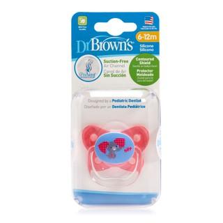 Ty ngậm Dr.Brown s hình chú voi màu hồng- Pv21307(6 -12 tháng)