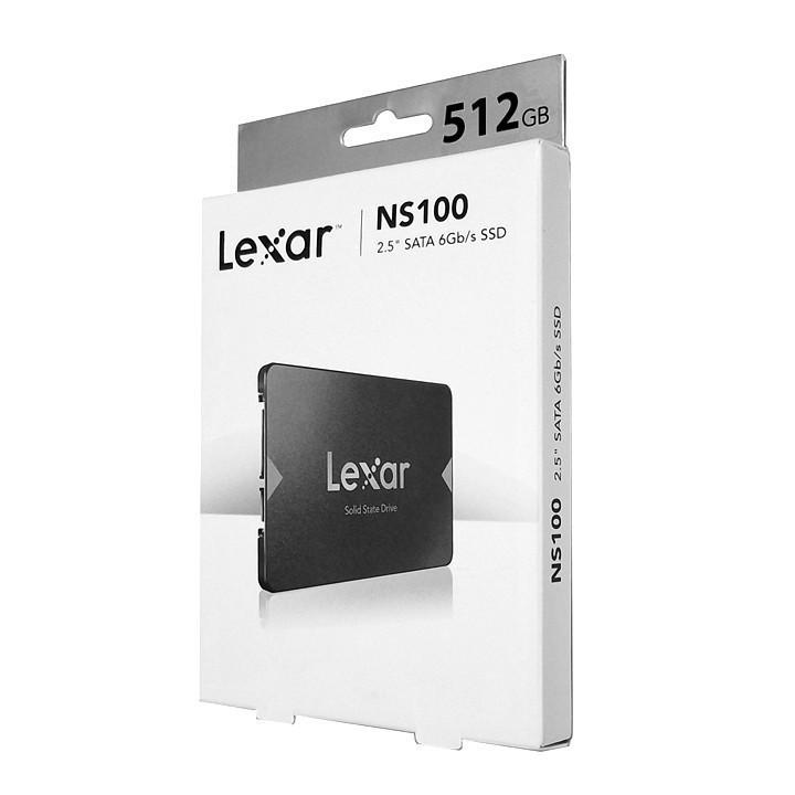 Ổ cứng SSD 2.5 inch SATA Lexar NS100 120 128 256 512GB-bảo hành 3 năm