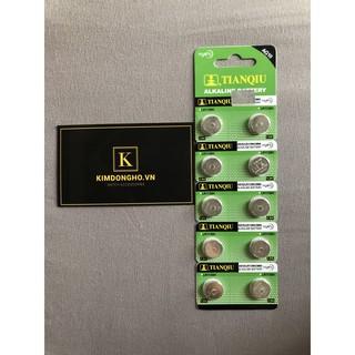 Pin Xin huang LR54 189 LR1130 AG10 cúc áo alkaline 1.5V hàng có sẳn LR1130 pin 1130 thumbnail