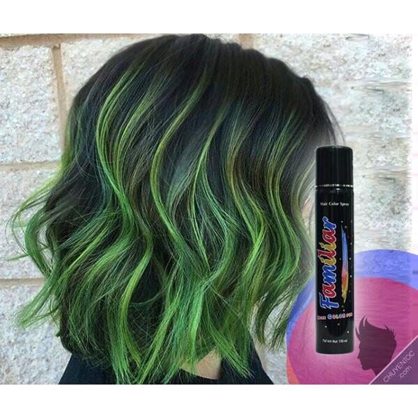Keo xịt tóc Familiar 100ml đủ màu