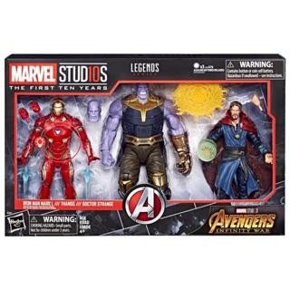 Bộ mô hình Marvel Legends Infinity 3 Pack chính hãng nhập Us