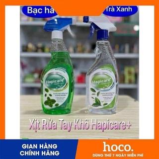[Chính Hãng] Xịt rửa tay khô hapicare+ 500ml thumbnail