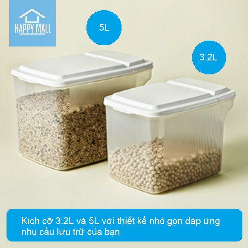 Hộp nhựa có tay cầm Lock&Lock Handy Container dùng bảo quản thực phẩm