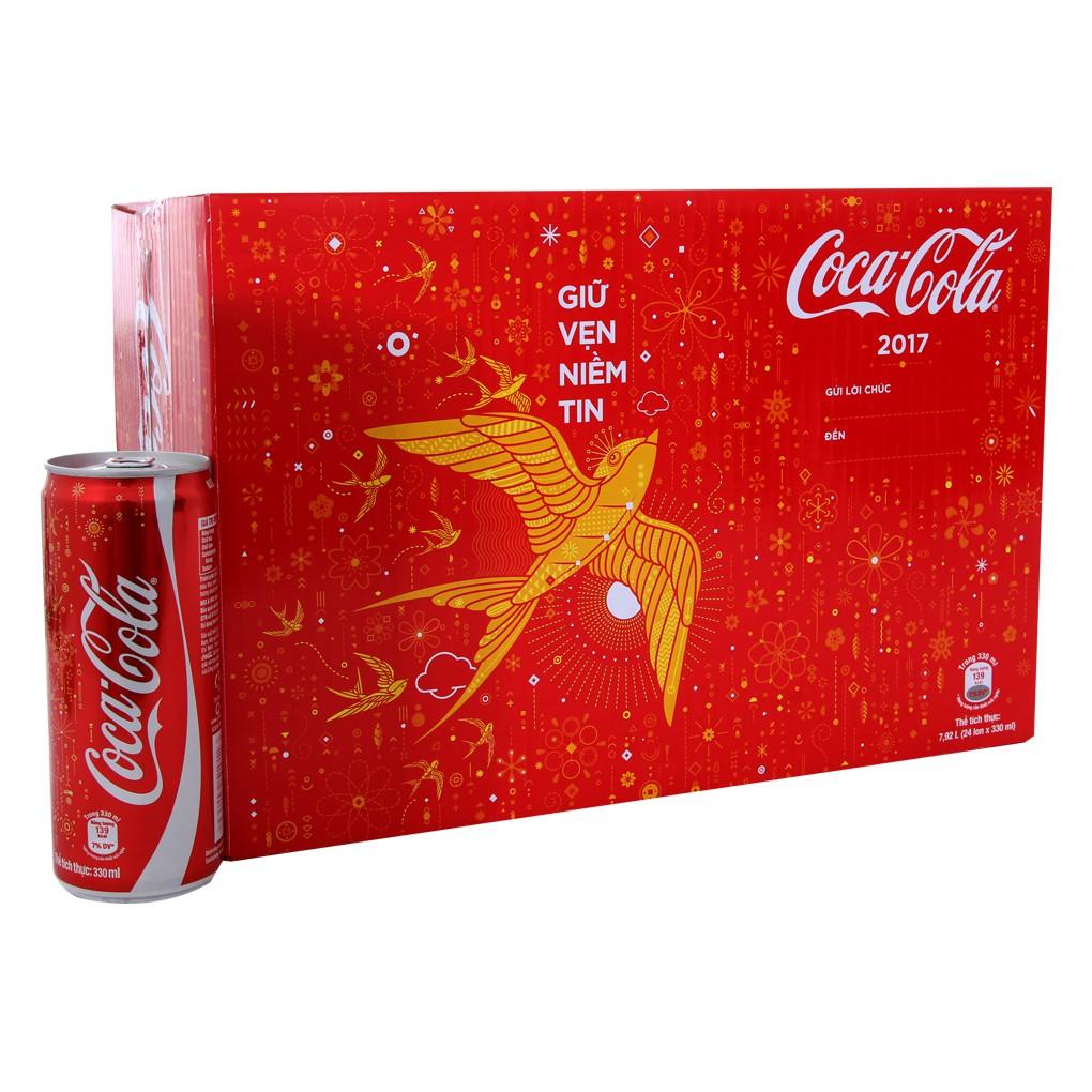 Nước ngọt Coca Cola sleek thùng 24 lon cao 330ml - 15240202 , 999461360 , 322_999461360 , 189000 , Nuoc-ngot-Coca-Cola-sleek-thung-24-lon-cao-330ml-322_999461360 , shopee.vn , Nước ngọt Coca Cola sleek thùng 24 lon cao 330ml