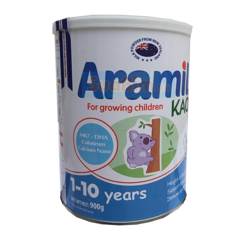 Sữa Aramil Kao 900g date 2021