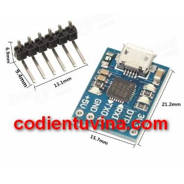 MICRO USB to UART TTL Module 6Pin Serial Converter STC NEW CP2102