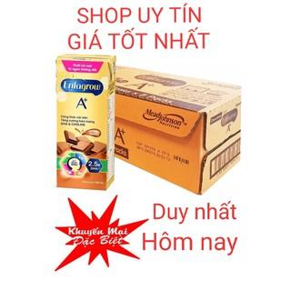 Vị mới Giảm Sốc- socola siêu ngon-Thùng 8 Lốc Sữa Nước Enfagrow A+ UHT Chocolate 180ml/Hộp date mới nhất