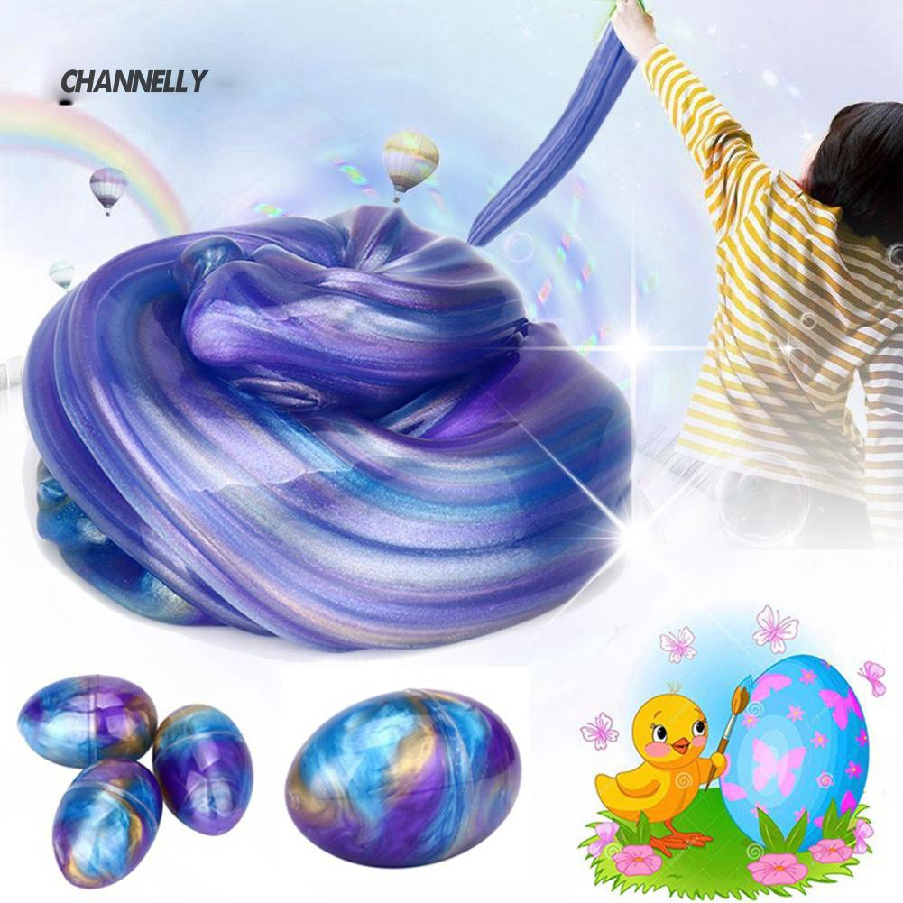 ■Cy Egg Soft Slime Anti-stress Scented Stress Relief Kid Sludge Toys Gift