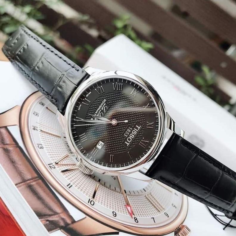CHUẨN AUTH] Đồng hồ nam TISSOT LE LOCLE POWERMATIC 80 T006.407.16.033.00 | Shopee Việt Nam